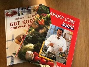 2 Lafer Kochbücher