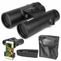 10x42 Zoom Binoculars Outdoor Travel HD Day&Night Vision Hunting Telescope Pro