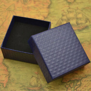 Mini Gift Box Earrings Necklace Ring Jewelry Case Box Container Storage 4Colors