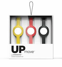 UP Move by Jawbone Activity Tracker 3 Strap Accessory Set, Yellow/Ruby/Onyx