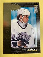 1995-96 UD Collectors Choice You crash the Game Gold Set #C3 Wayne Gretzky SP