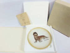 Akiku The Seal Pup Porcelain Collectors Plate w/Coa # 2802 Roger J Brown Animals