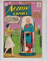 """Action 256 VG+ (4.5) 9/59 """"The Superman of the Future!"""""""