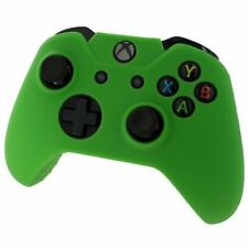Xbox ONE© Controller Skin - GREEN - Case Silicone Cover Gel Rubber Protective