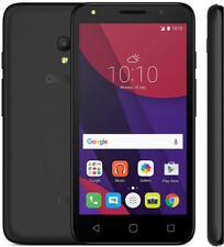 "Alcatel Pixi 4 Smartphone 4"" 512MB 4GB 3G Android 6.0 Black Unlocked Sim Free"