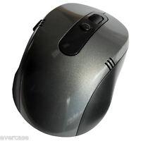 2.4G senza Fili/ Cordless Mouse Ottico con USB Ricevitore. Scuro Grigio