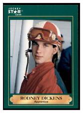 1991 Horse Star Jockey Cards Rodney Dickens #74
