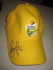 Brett Lee (Australia) signed Australian Cricket Cap + COA