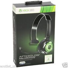 PDP Afterglow Wired Communicator Gaming Headset with Mic Xbox 360 X360 NEW