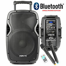 More details for vonyx sound portable battery powered bluetooth pa system 600w wireless radio mic