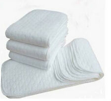 set 10 pezzi inserti pannolini lavabili riutilizzabili ecologici offerta !