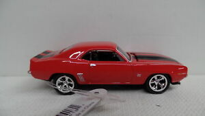 Johnny Lightning LOOSE 1969 CHEVY CAMARO RS/SS Red '69 w/Black Stripes
