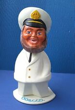 1960's Ussr Russian Soviet Souvenir Odessa Plastic Large Size Cheerful Captain