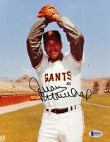 Giants Juan Marichal Authentic Signed 8x10 Photo Autographed BAS 2