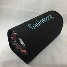 "6"" portatile Altoparlante Subwoofer Auto Booster TUNNEL Audio HIFI BASS Amplificatore 12v"