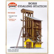 Model Power Coaling Station Building Kit HO Scale - Free Shipping - Bargain!