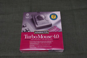 VTG NIB KENSINGTON TURBO MOUSE 4.0 MACINTOSH!!
