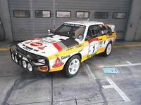 AUDI S1 Sport Quattro Rallye WM Africa Bandama 1984 #1 Blomqvist OTTO Resi 1:18