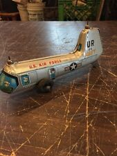 Antique Us Air Force Navy Tin Toy Made In Japan