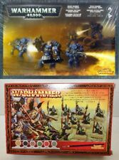 WARHAMMER 40,000 40K LOTTO SET SPACE MARINE + PASSO TESCHIO 2004 GAMES WORKSHOP