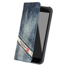 Genuine Diesel Cosmo 5 iPhone 5 / 5s / SE Slim Light Booklet Case – Indigo