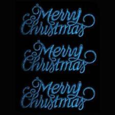 Adornos de color principal azul de bola para árbol de Navidad