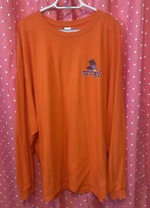 Plus Sz 3XL Girlie Girl MOO Orange Cow Witch Long Sleeve Shirt T-Shirt NWOT