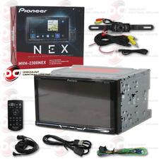 "PIONEER CAR 2DIN 7"" LCD DIGITAL MEDIA BLUETOOTH STEREO FREE LICENSEPLATE CAMERA"