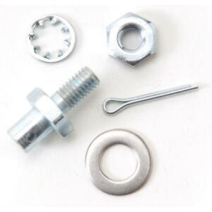 Edelbrock Carburetor Throttle Stud 8009; Throttle Cable Adapter for 77-Up Chevy