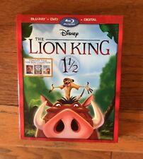 Disney The Lion King 1 1/2 DVD & Blu-Ray Movie New In Package