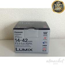 Panasonic standard zoom lens for micro Four Thirds G X VARIO PZ 14 - 42 mm JAPAN