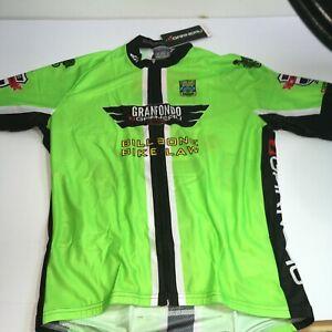 Louis Garneau Maillot Tour Cycling Jersey Green NWT- Pick Size.