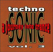 Techno Sonic, Vol. 3: Journey into Trance (CD, Apr-1993) Moisture Damage