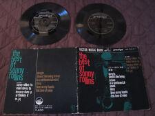 Sonny Rollins The Best of Japan Double Vinyl Flexi 7 inch in Book Miles Davis