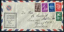 Nederlandse Antillen FDC VOORLOPER V10_01 M, met adres ;