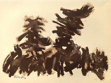 Robert HELMAN (1910-1990) Rare Lithographie Originale VII Originale Signée 1965