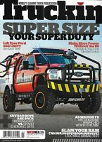 Truckin Magazine Superduty Super Size Ford and Chevy Easy Lift Header Install