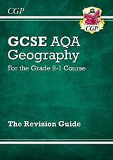 New Grade 9-1 GCSE Geography AQA Revision Guide by CGP Books | Paperback Book |