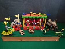 Playmobil ***Rarität*** Ritter/Turnierplatz 3652-A/1993, Komplett-Set ohne OVP!