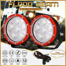 CREE NEW DESIGN 5inch 31800LM LED Work Driving Lights Flood Beam Offroad UTE 4WD