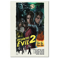 NEW Resident Evil 3 Nemesis Remake Game Poster Wall Art 11x17 13x19