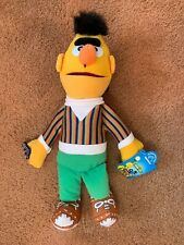 """NOS 11"""" Sesame Street Plush Bert doll toy with tags from Applause"""