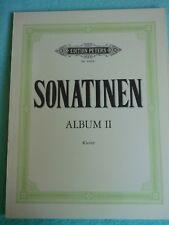 Sonatinen Album 2 Edition Peters No. 4680b Klavier Noten
