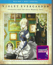 Violet Evergarden: Eternity & The Auto Memory Doll (Blu-ray + DVD + Digital) NEW