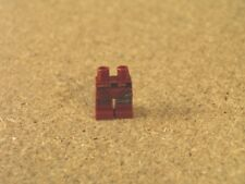 Lego Super Hero Minifig Dark Red Hips and Legs with Orange and Black Belt NEW