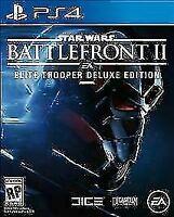 Star Wars Battlefront II 2 Elite Trooper Deluxe Edition Playstation 4 PS4 NEW