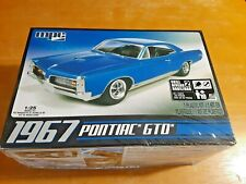 2019 MPC Model 1967 PONTIAC GTO Kit #AMT710/12