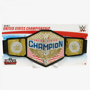 WWE Live Action WWE United States Championship Belt Roleplay Toy
