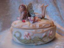 Fairy Dreaming Jewelry Trinket Keepsake Box Summit Collection Romantic Fairies