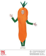 Childrens Carrot Fancy Dress Costume Food Vegetable Outfit 116Cm